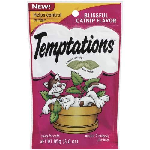 Whiskas Temptations Blissful Catnip Cat Treats (Pack of 20) by Whiskas