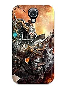 Hot 9109501K55067779 Awesome Defender Tpu Hard Case Cover For Galaxy S4- Hellgate London Game