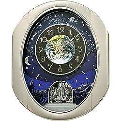 Rhythm Clocks Peaceful Cosmos II Magic Motion Clock