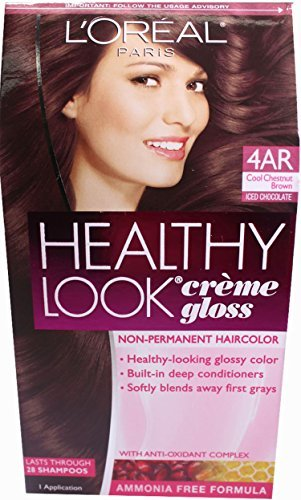 L'oreal Paris Healthy Look Crème Gloss (Cool Chestnut Brown 4AR)