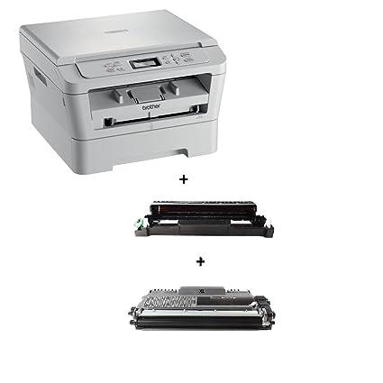Brother DCP 7055 W/DCP7055W - Impresora multifunción láser/WLAN ...
