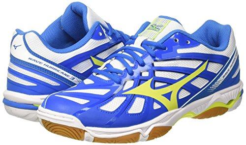 Homme Volley Pour Hurricane Directoireblue Scurit Chaussures De Wave ball Mizuno blanc Multicolores 44 Jaune qf0wBZcUcx