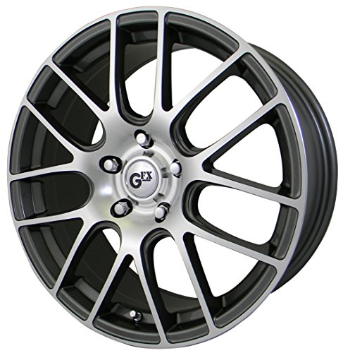 "G-FX G20 Gunmetal Wheel with Machined Face (18x8""/5x108mm..."