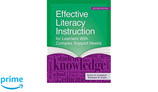 Amazon Effective Literacy Instruction For Learners With Complex