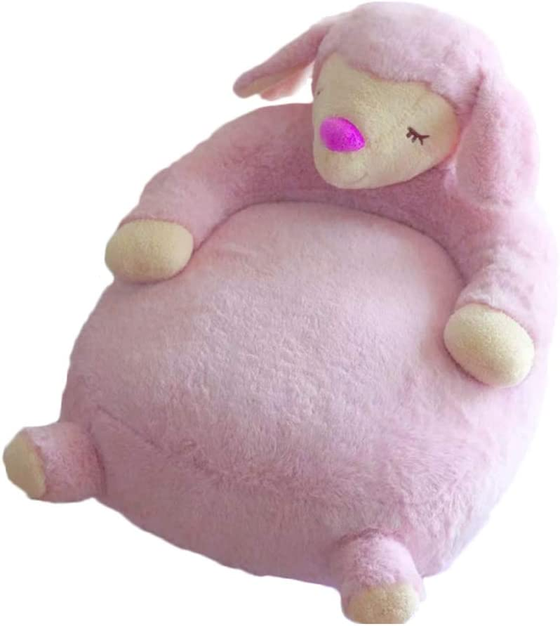 Pink Swan Baby Sofa Bear Support Seat Learning Sitting for Soft Chair Cushion Babys Feeding Pillows Safe Animal Plush Gift