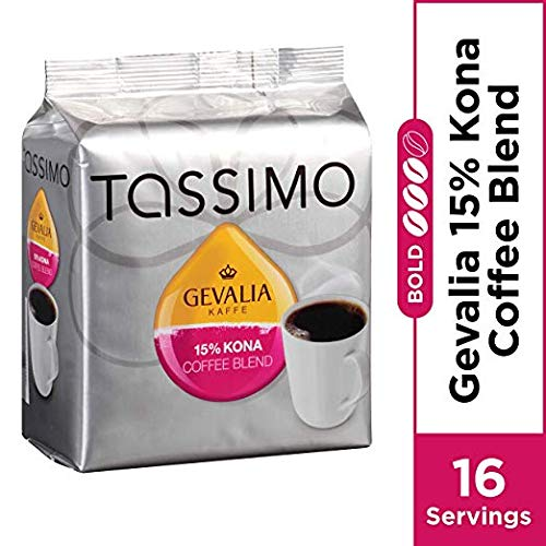 Tassimo Gevalia Kona Coffee Blend T Discs (16 Count) (16 Count (Pack of 2))