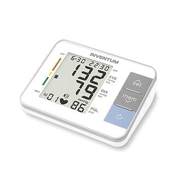 Inventum Tensiómetro de Brazo con Monitor Automático de Presión Arterial Blanco: Amazon.es: Salud y cuidado personal