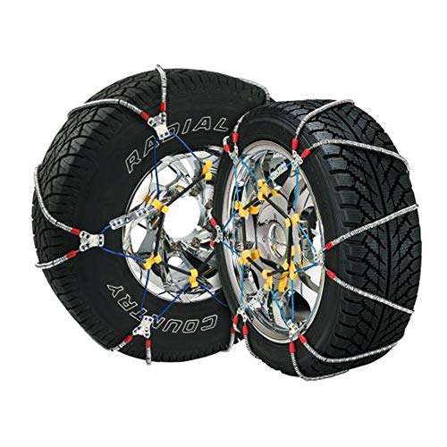 Security Chain Company SZ137 Super Z6 Cable Tire Chain for Passenger Cars, Pickups, and SUVs - Set of 2 ()