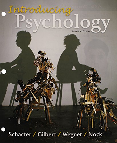 Loose-leaf Version for Introducing Psychology 3e & LaunchPad for Schacter's Introducing Psychology 3e (Six Month Access) -  Schacter, Daniel L., 3rd Edition, Loose-leaf w/ Access Card