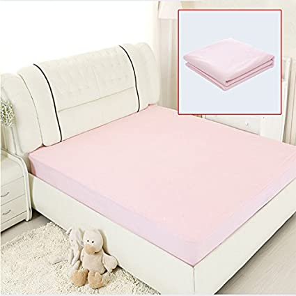Lznlink Waterproof Bed Sheets Changing Mat Mattress Protector Cover Pad  With TPU