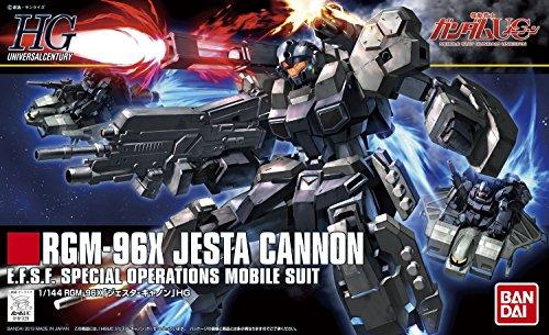 Bandai Hobby HGUC Jesta Cannon High Grade Universal Century 1/144 Gundam Unicorn Action Figure ()