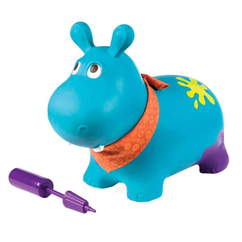 Lxrzls Space Bouncing Animal Hopper-Ride on Hopper- Inflatable Animal Bouncing Ride