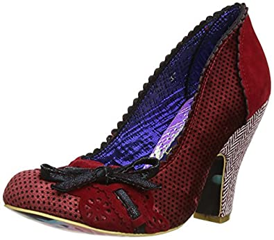 Amazon Irregular Choice Shoes Red And Black