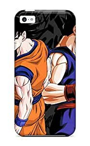 New Style Tpu 5c Protective Case Cover/ Iphone Case - Goku And Gohan