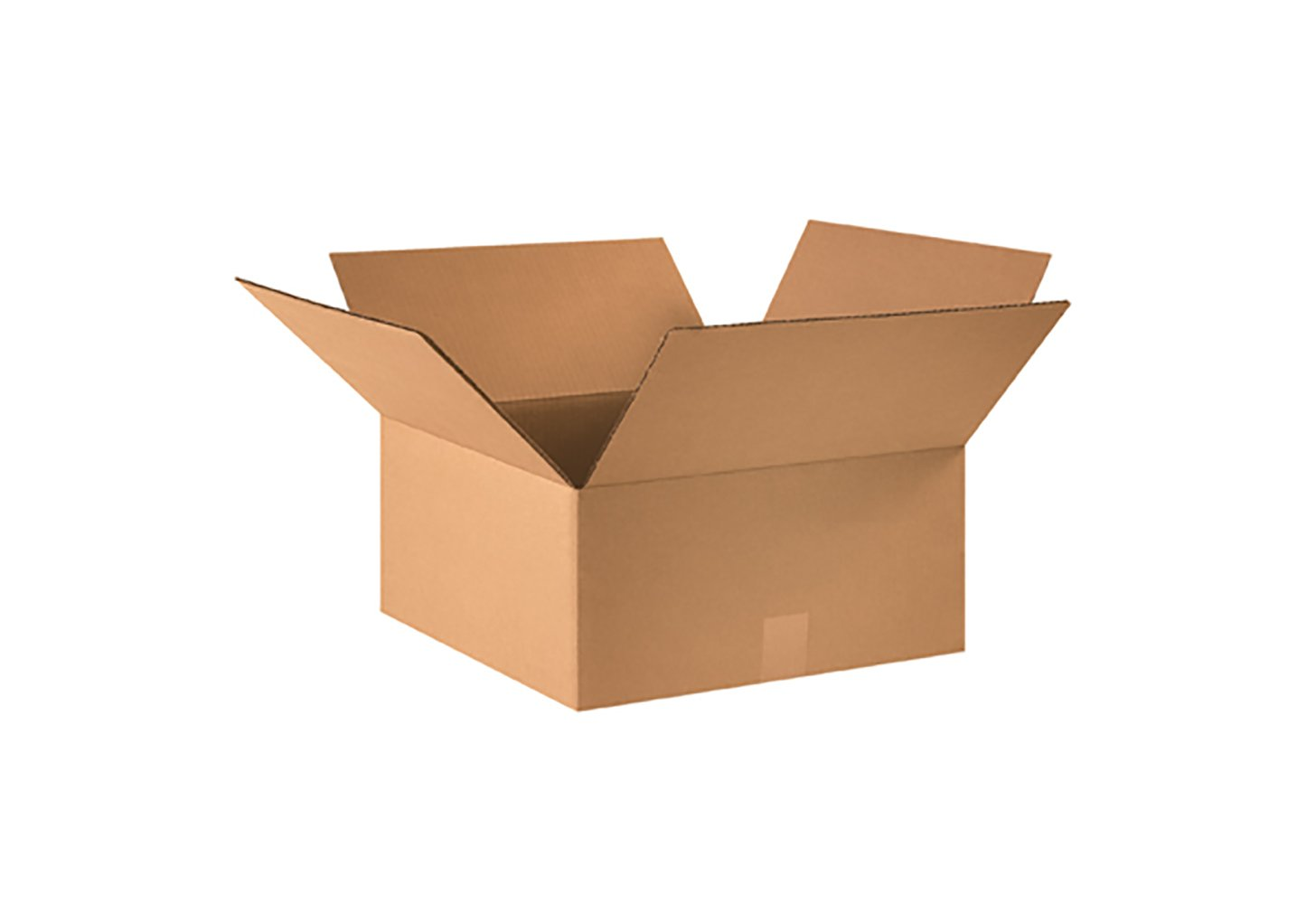 RetailSource B161606CB250 Corrugated Box, 6'' Height, 16'' Width, 16'' Length, Brown (Pack of 250)