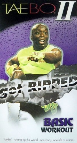 Tae Bo II Get Ripped Basic Workout VHS by Billy Blanks