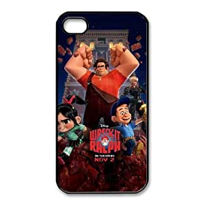 Fashion image DIY for iPhone 4 4s Cell Phone Case Black Wreck It Ralph BAM2936046