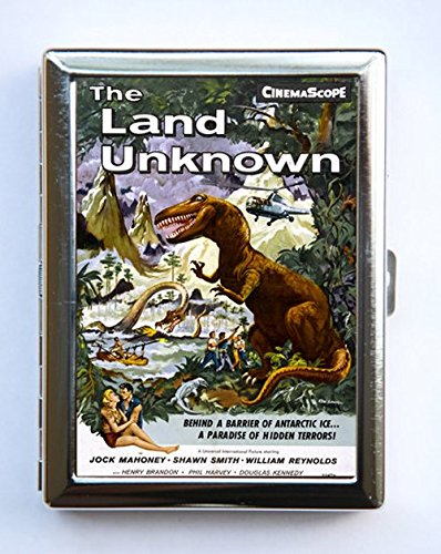 Amazon land of the unknown cigarette case wallet business card land of the unknown cigarette case wallet business card holder sci fi b movie reheart Image collections