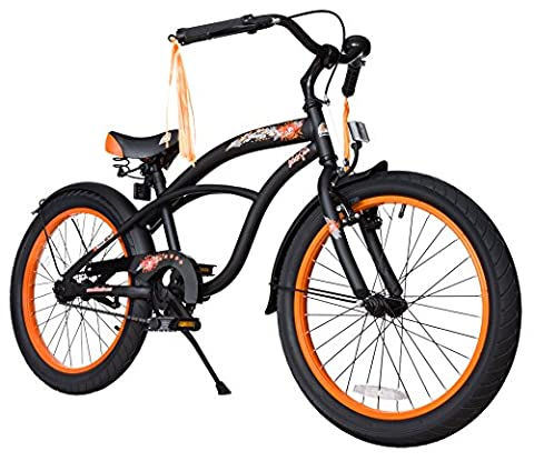 Bikestar 20 Inch (50.8cm) Kids Children Bike Bicycle - Cruiser - Black