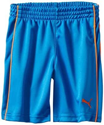 PUMA Little Boys' Toddler Boy Piped Short, Electric Blue Lemonade, 2T