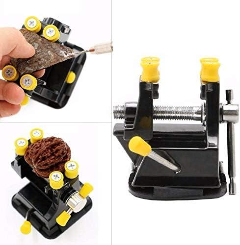 GENERICS LSB-Werkzeuge, DIY Aluminium Miniatur Kleine Juweliere Hobby Clamp Auf Tisch Schraubstock Mini Tool Vice