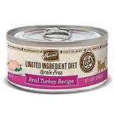 Merrick Limited Ingredient Diet Grain Free Turkey Canned Cat Food, 5...
