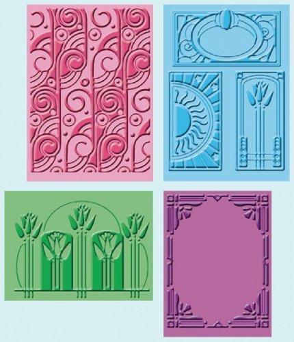 (Provo Craft Cuttlebug Embossing Folders, Art Deco by)
