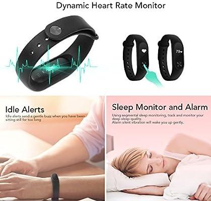 Xiaomi Mi Band 2 Pulsera muñequera Smartwatch Con tecnología ...