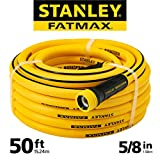 Stanley Fatmax Professional Grade Water Hose, 50' x 5/8, Yellow 500 PSI Larger Image