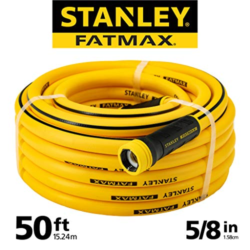 (Stanley Fatmax Professional Grade Water Hose, 50' x 5/8