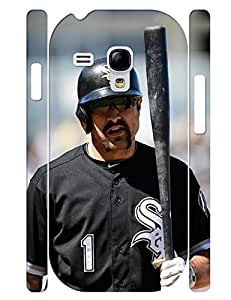 Fascinating Series Cell Phone Case Personalized Men Baseball Player Pattern Solid Case Cover for Samsung Galaxy S3 Mini I8200 (XBQ-0011T) wangjiang maoyi