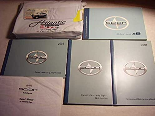 2006 scion xb owners manual scion amazon com books rh amazon com scion xb owners manual 2009 scion xb owners manual pdf