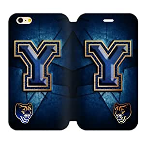 Generic Custom Unique Otterbox You Deserve--Brigham Young University NCAA BYU Cougars Teams Logo TPU and High Grade PU Leather Case Cover iPhone6