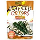 Ocean Snack Almond Seaweed Crisps 1.06 Oz