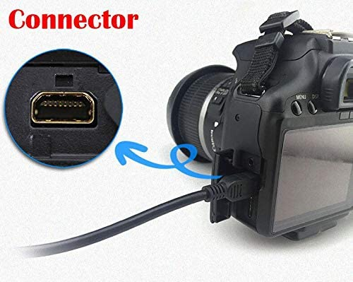 WeGuard USB PC Cable Cord for Panasonic Camera Lumix DMC-FP1 DMC-FS42 DMC-FX55 DMC-TS10