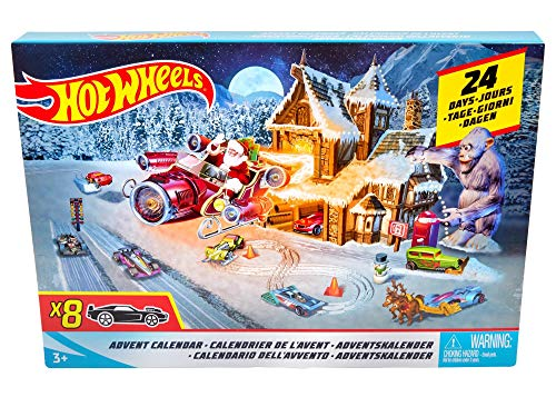 Hot Wheels Advent Calendar (Christmas Advent Calendar)