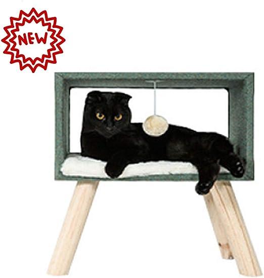 PETVE Gato Pequeño Árbol del Gato Marco del Gato Nido del Barril ...