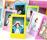 polaroid frames - CaiulBasic CAIUL Compatible 5 Different Colorful 3 inch Frame for Fujifilm Instax mini 8 8+ 9 70 7s 90 25 26 50s, Instax SP-2, Polaroid PIC-300 Z2300 Films