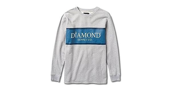 Diamond Supply Mayfair Fleece Top in Gray