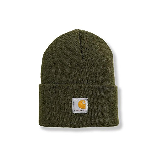 Carhartt Boys' And Girls' Acrylic Watch Hat, Ivy Green, Toddler