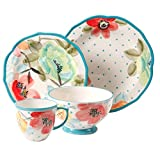 The Pioneer Woman Vintage Bloom 16-Piece Decorated Dinnerware Bundle Review