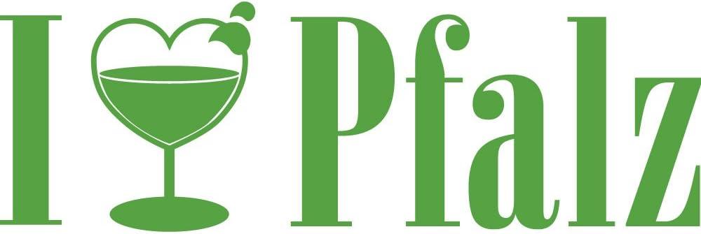 versch Farben zur Wahl Farbe silber I Love Pfalz AP1732 Aufkleber Applikation