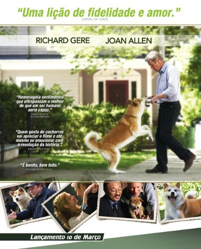 Hachiko: A Dog's Story POSTER Movie (11 x 17 Inches - 28cm x 44cm) (2009) (Brazilian Style A)