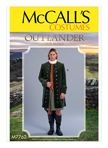 McCall's Pattern M7762 MWW Men's Coats Costume from