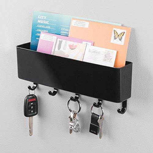 Mdesign Mail Letter Holder Key Rack Organizer For