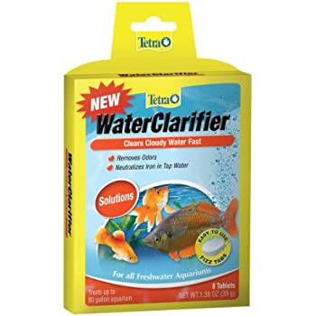 Tetra Water Clarifier Tablets, Aquarium Solutions, 8-Count