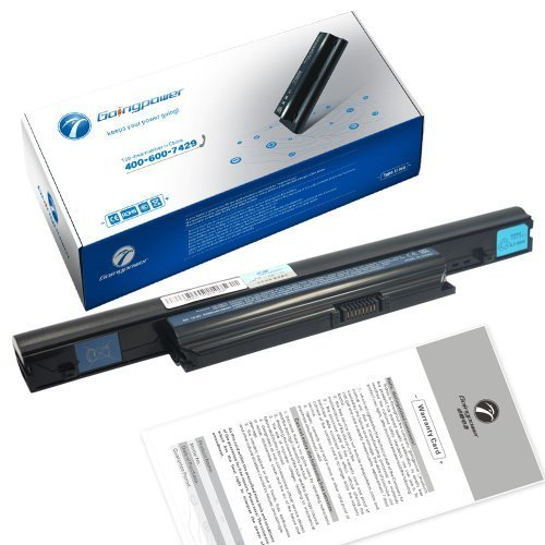 Free Goingpower Battery for Acer Aspire 5625 5625G 5745P 5745PG 5820 5820G 7250 7250G 7739 7739G - 18 Months Warranty