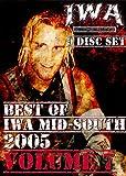 IWA Mid-South Wrestling 9 Disc Set - Best of 2005 Volume 7 DVD-R