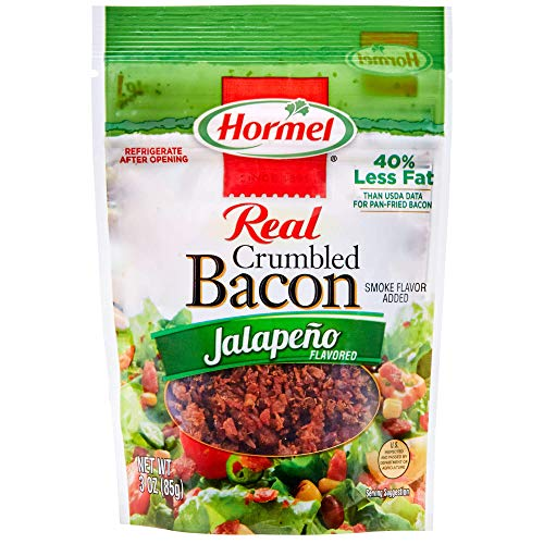 Hormel Crumbled Bacon, Jalapeno, 3 Ounce ()