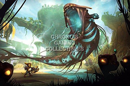 """Price comparison product image CGC Huge Poster - Ratchet & Clank PS2 PS3 PSP - RAT001 (24"""" x 36"""" (61cm x 91.5cm))"""